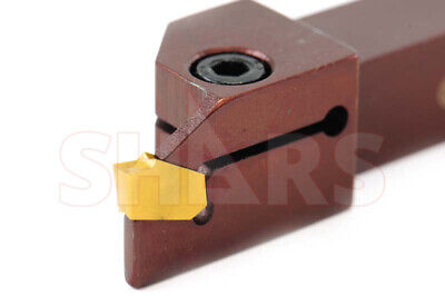 SHARS 5/8 x 5/8 111R10-25 PRECISION GROOVING & CUT-OFF TOOL HOLDER GTN 3 NEW