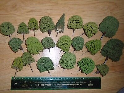 Collection of Trees for Hornby OO Gauge Train Sets