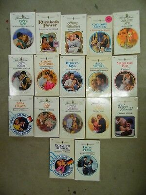 Large Lot of 17 Harlequin Presents Series Romance Paperback Books FREE SHIPPING
