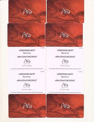10 the same from--the ARIA------Las Vegas,NV-----Room keys