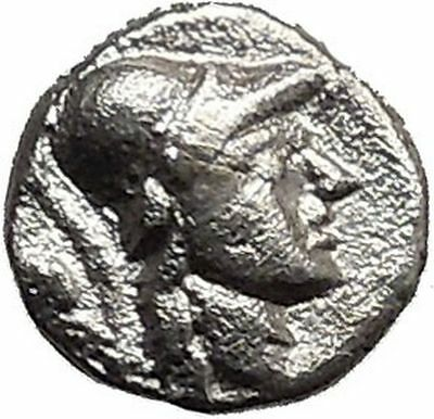 SELGE in PISIDIA 300BC Gorgoneion & Athena  Ancient Silver Greek Coin  i31014