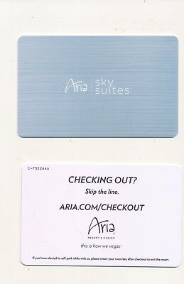 "new issue--ARIA--""Sky Suites""---Las Vegas, NV-----Room key"