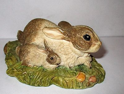 John Beswick Studio Sculpters The Countryside Series Contentment Rabbit &Baby