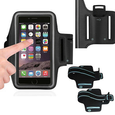 Armband Black Jogging Exercise Case fits iPhone 8 with Otterbox on it.