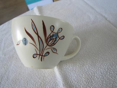 Poole 1970's? Stylised Blue Flower 1XTeaCup