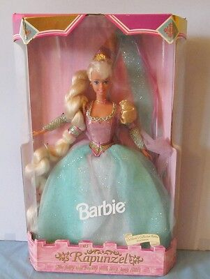 Never Removed From Box 1995 Barbie As Rapunzel / Children's Collector Series