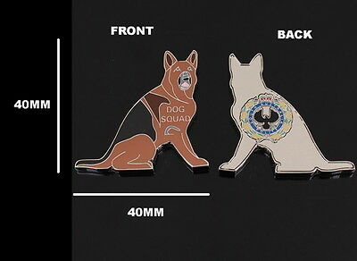 South Australia Police Dog Squad Challenge Coin (social)
