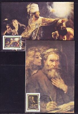 South Africa 1987 The Bible Set 3 Maxi cards