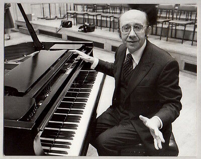 GENNADI ROZHDESTVENSKY Russian Conductor appointed BBC Symphony VINTAGE PHOTO