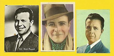 Dick Powell Fab Card Collection Four Star TV Blessed Event Hollywood Hotel B