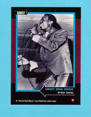 Arthur Conley Soul Music Collector Card  Have a Look!