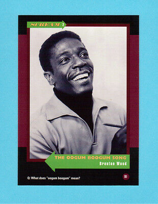 Brenton Wood Soul Music Collector Card  Have a Look!