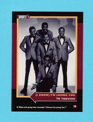 The Temptations Soul Music Collector Card  Have a Look!