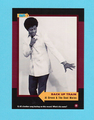 Al Green & The Soul Mates  Soul Music Collector Card  Have a Look!