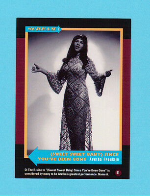 Aretha Franklin  Soul Music Collector Card  Have a Look!