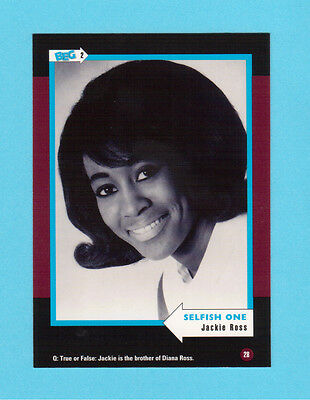 Jackie Ross Soul Music Collector Card  Have a Look!