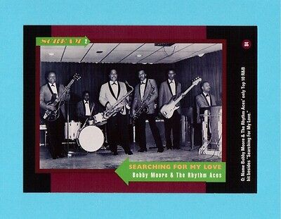 Bobby Moore & The Rhythm Aces  Soul Music Collector Card  Have a Look!