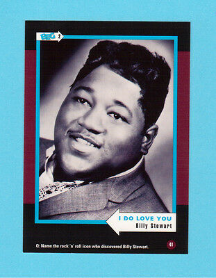 Billy Stewart Soul Music Collector Card  Have a Look!