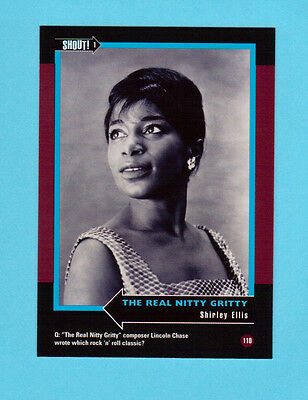 Shirley Ellis Soul Music Collector Card  Have a Look!