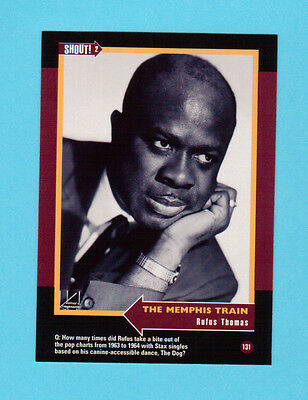 Rufus Thomas Soul Music Collector Card  Have a Look!