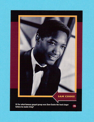 Sam Cooke Soul Music Collector Card  Have a Look!