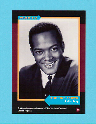 Dobie Gray Soul Music Collector Card  Have a Look!