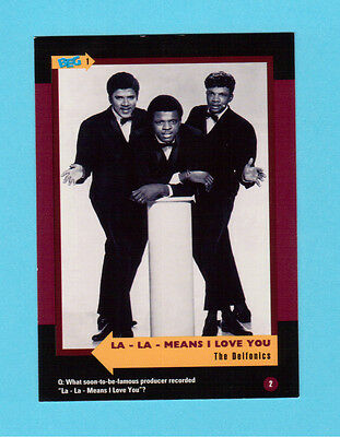 The Delfonics Soul Music Collector Card  Have a Look!