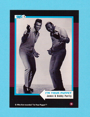 James & Bobby Purify Soul Music Collector Card  Have a Look!