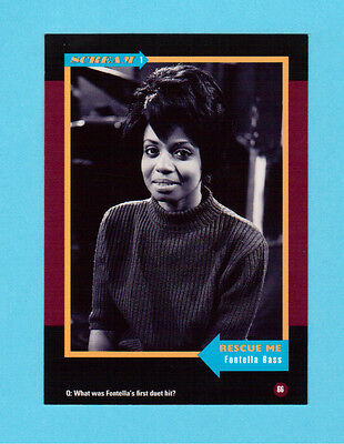 Fontella Bass Soul Music Collector Card  Have a Look!