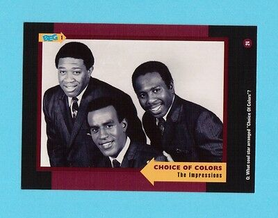 The Impressions Soul Music Collector Card  Have a Look!