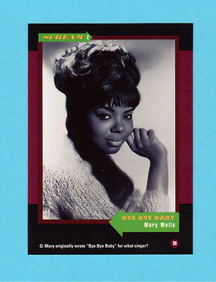 Mary Wells Soul Music Collector Card  Have a Look!