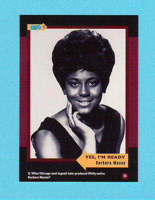 Barbara Mason Soul Music Collector Card  Have a Look!