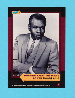 Toussaint McCall  Soul Music Collector Card  Have a Look!
