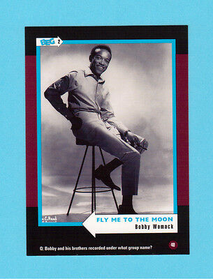 Bobby Womack  Soul Music Collector Card  Have a Look!