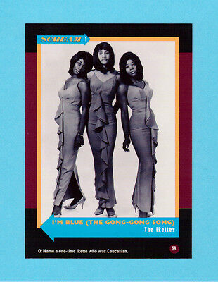 The Ikettes Soul Music Collector Card  Have a Look!