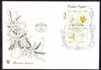 Venda 1981 Orchids Mini Sheet First Day Cover  Large