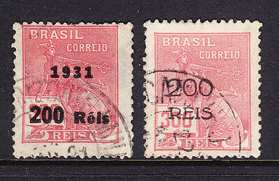 Brazil - 1931 Surcharges - Used