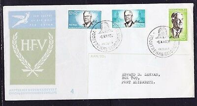 South Africa 1966 Henrick Verwoerd  First Day Cover  Add