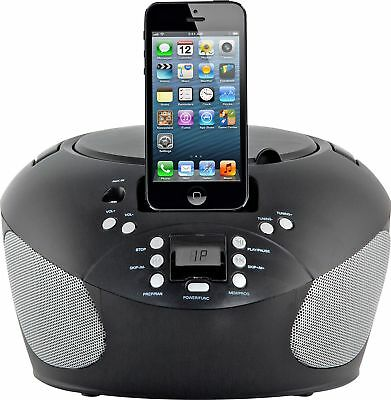Bush CD Boombox with Dock - Black. From the Official Argos Shop on ebay