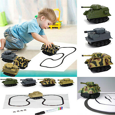 Magic Smart Inductive Tank / Car Follow Any Line You Draw Novelty Children Toy