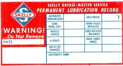 Vintage, Skelly Oil Company, Skelly Grease Master Record Permanent Lube Record