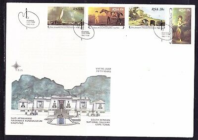 South Africa 1980 National Gallery First Day Cover Large