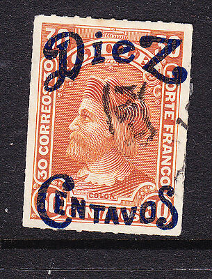 Chile 1903 Columbus Surcharge #93