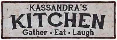 KASSANDRA'S Kitchen Rustic Look Chic Sign Home Décor Gift 6x18 Sign 61805536