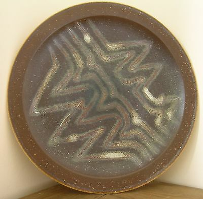 Large Iden Pottery Plate..signed