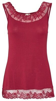 10500512 Bluse M ROUGE RED KAFFE 38 TOP