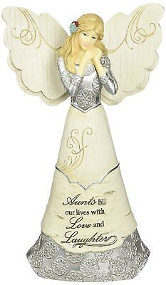 Elements Aunt Angel Figurine by Pavilion, 6-Inch, Inscription Aunts Fill Our and