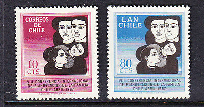 Chile - 1967 Family Planning set Mint