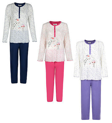 Ladies Pyjama Set Best Friends Giraffe Long Pyjamas Night Wear Uk 6-16 Bnwt