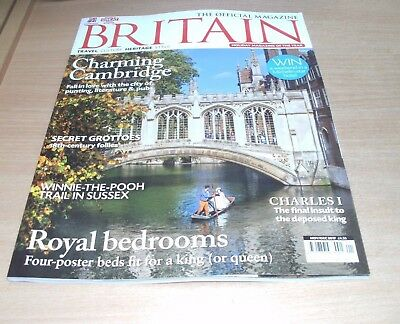 Britain Official magazine NOV/DEC 2017 Cambridge, Winnie-the-Pooh Trail; Sussex